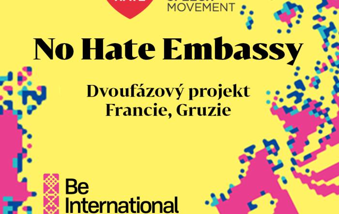 Dvoufázové školení No Hate Embassy (srpen Francie, listopad Gruzie)