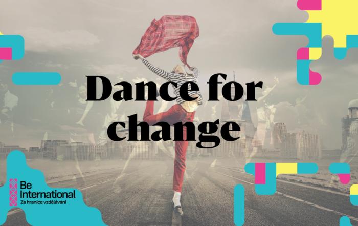 Dance for Change, Česko, 23. 9. – 1.10. 2019