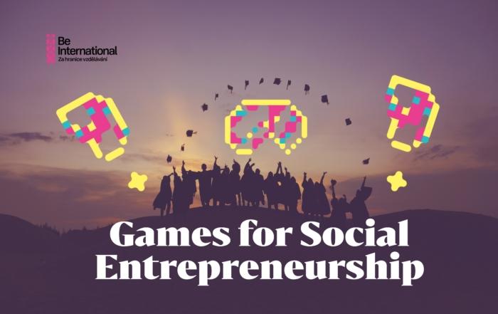 Games for Social Entrepreneurship, Kypr, 17.-22.09. 2021